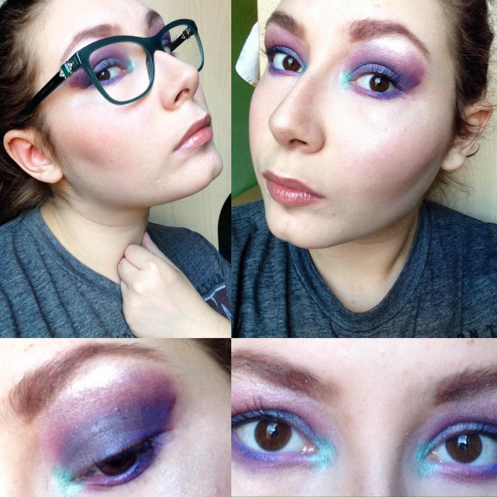 Indigo Metal Smoky Eyes Makeup Tutorial - ENG & ITA