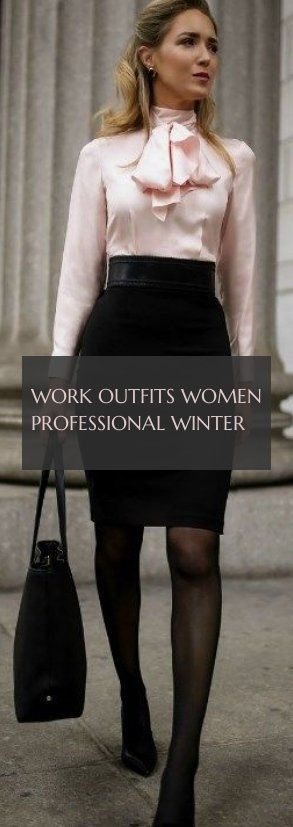 10 more work outfits women professional winter  arbeitskleidung frauen beruflicher winter work outfits women professional winter  Sweaters winter women outfits Classy win...