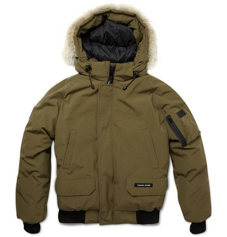 Canada Goose Yorkville Coyote Trimmed Bomber Jacket Canada Goose Fashion Womens Clothing Websites Buy Womens Clothing