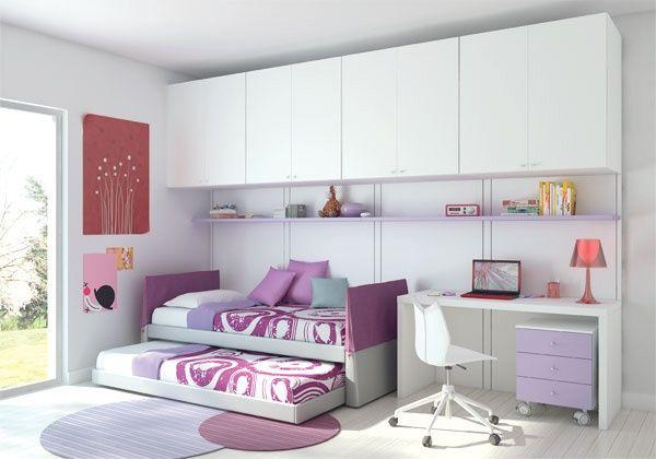 fotos de dormitorios juveniles para dos chicas