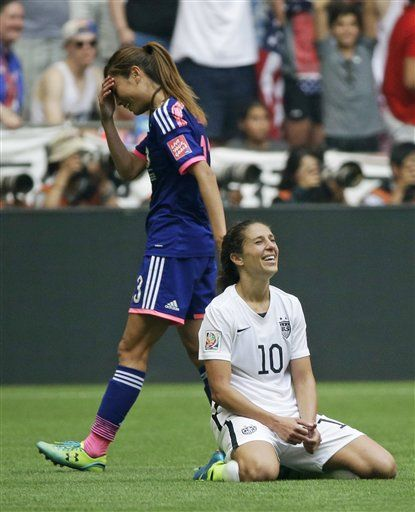 Carli Lloyd Becomes Captain America For Us Women Carli Lloyd Usa Soccer Women Women S Soccer Team