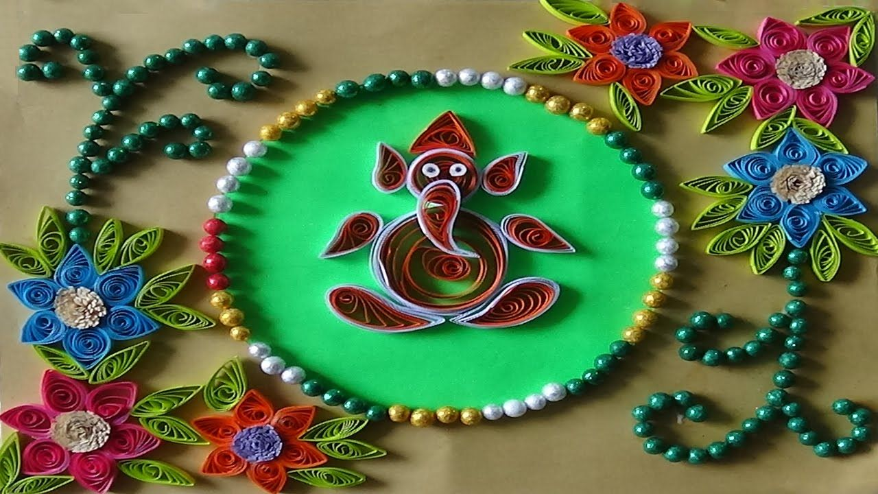 Paper Craft Paper Quilling How To Make Paper Quilling Greeting