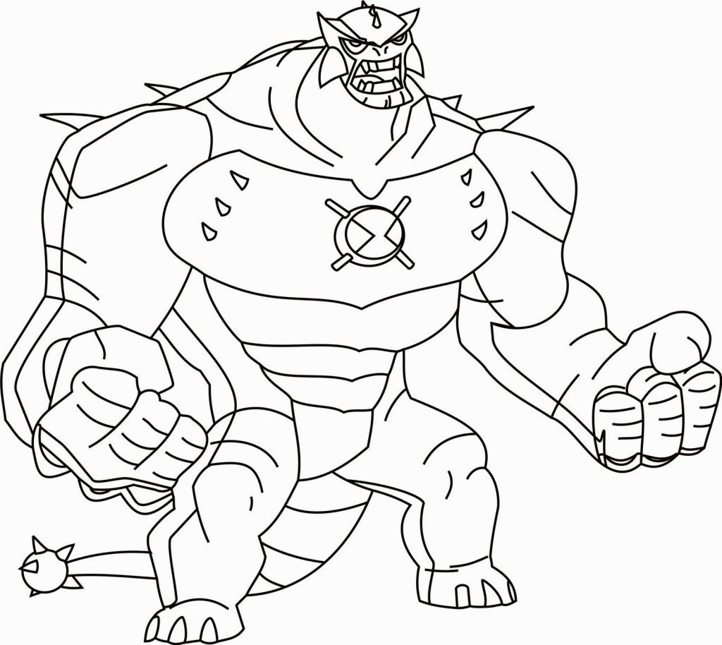 Ben 10 Coloring Book Pdf | Coloring Pages | Pinterest