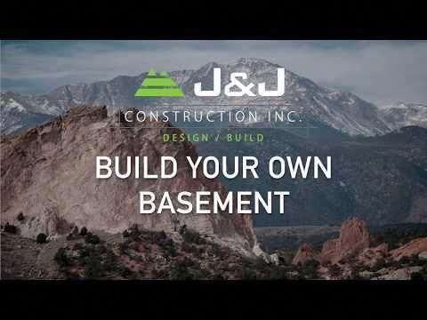 Colorado Springs basement finishing by J&J Construction's ...