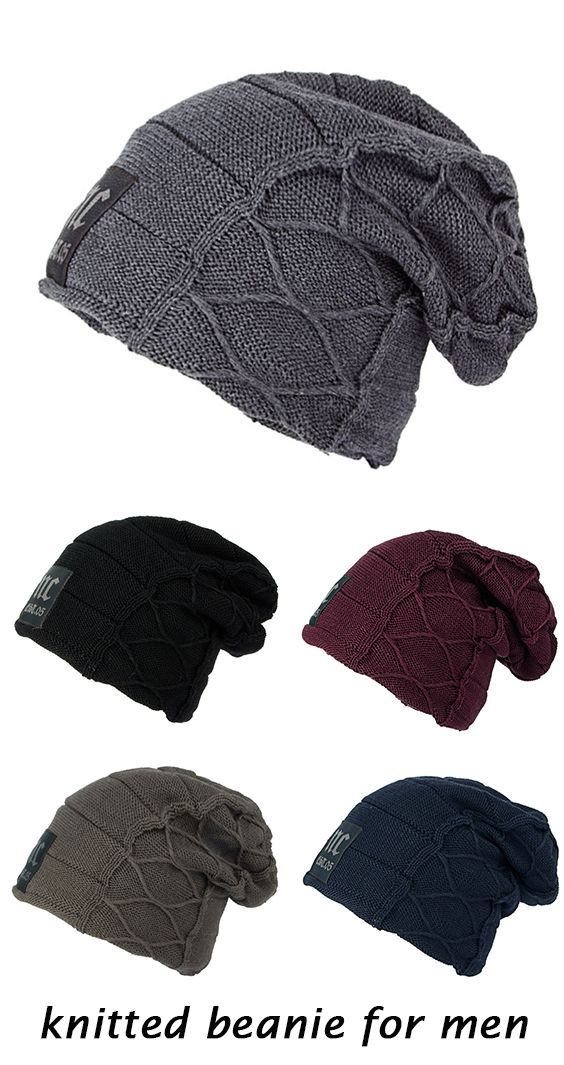 4f7038bc41139 Knitted Beanie For Men
