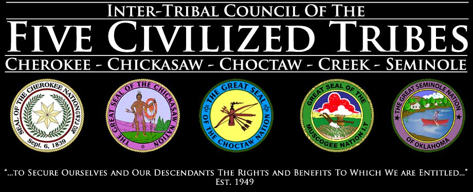 Inter Tribal Council Of The Five Civilized Tribes Home