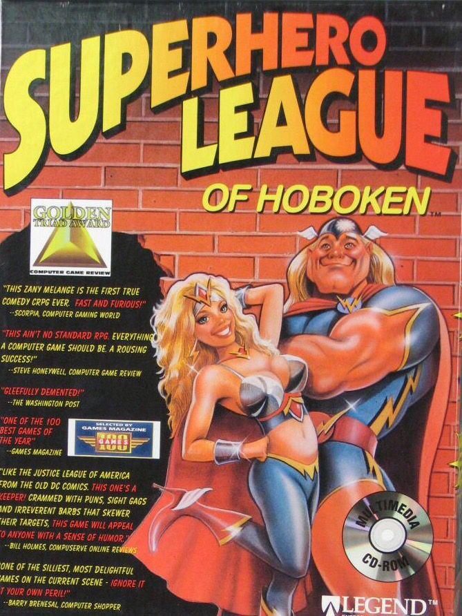 Superhero League of Hoboken Hoboken, Retro video games