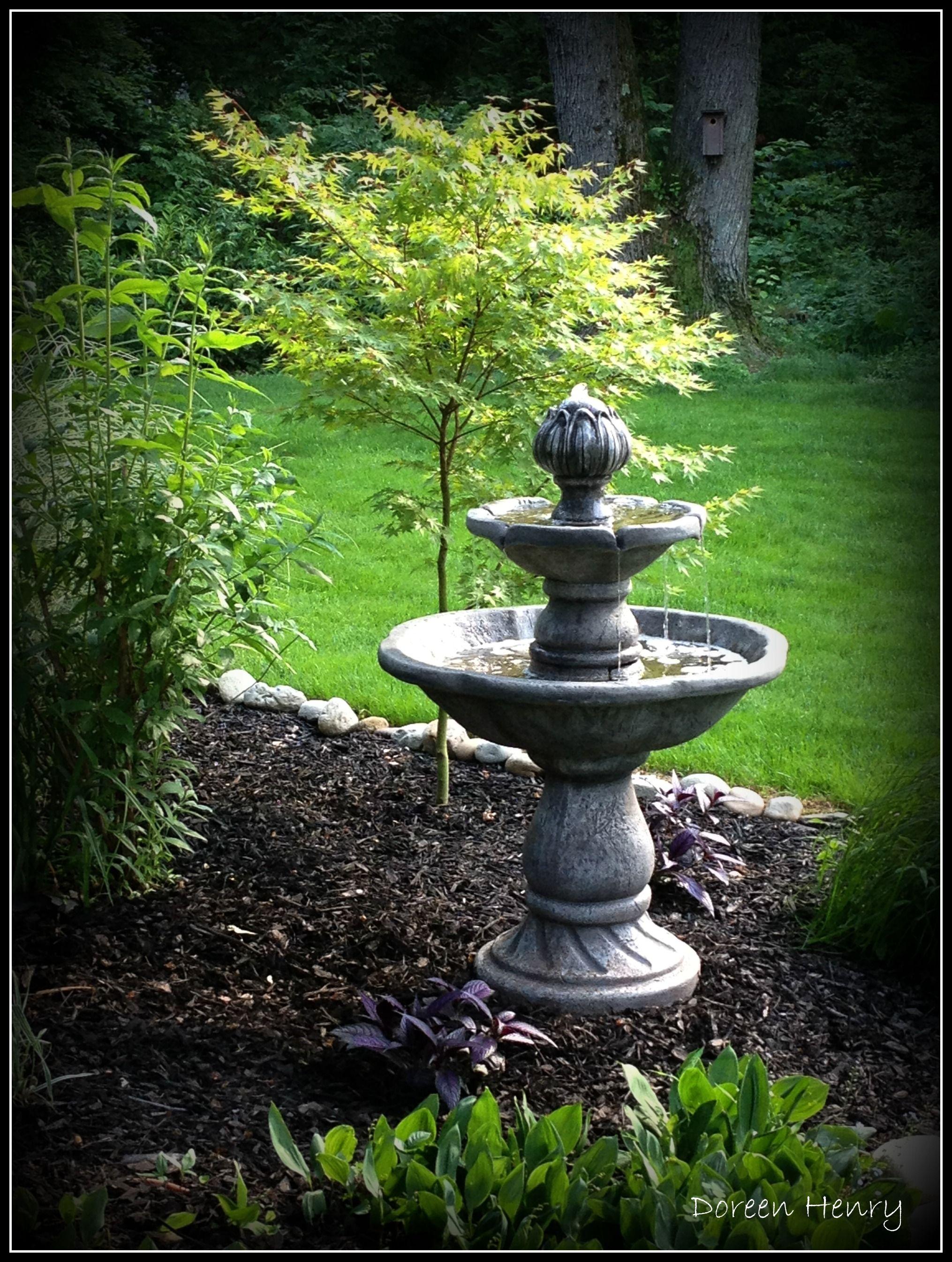 Small Garden Fountain: Patio Fountain, Garden