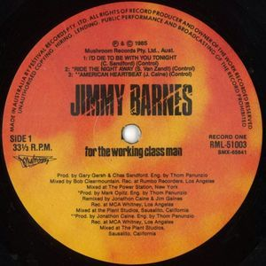 Jimmy Barnes - For The Working Class Man (Vinyl, LP, Album) at Discogs