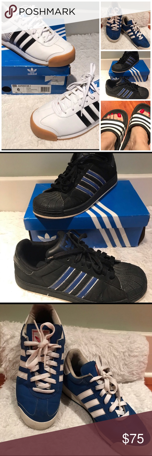 3pc Adidas 5.5 & 6 Sneaker Bundle Preloved condition Sz: 5.5