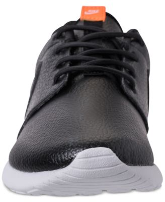 Women's Roshe One Premium Just Do It Casual Sneakers from