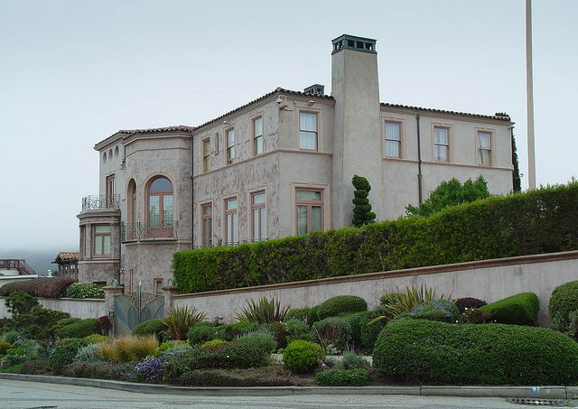 Robin Williams House. Sea Cliff San Francisco, CA (side View; Home Is