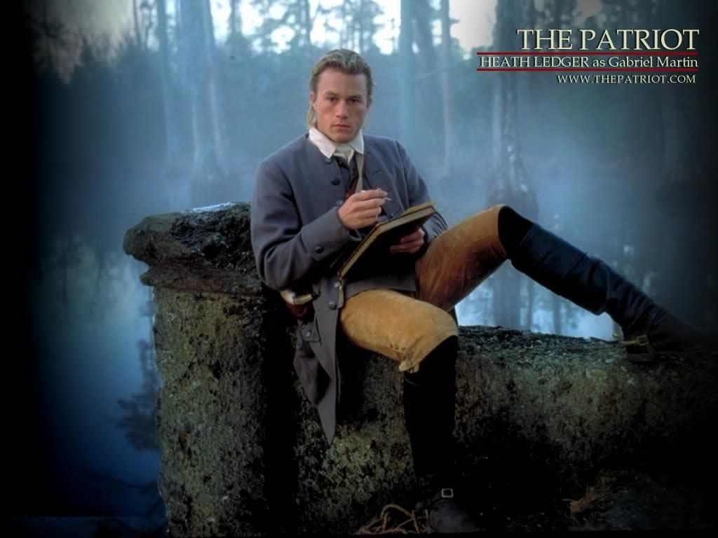 best images about the patriot cinema seriously love the movie the patriot and i`m in love heath ledger if i have a boy when im older im naming him gabriel thomas from this movie or vise