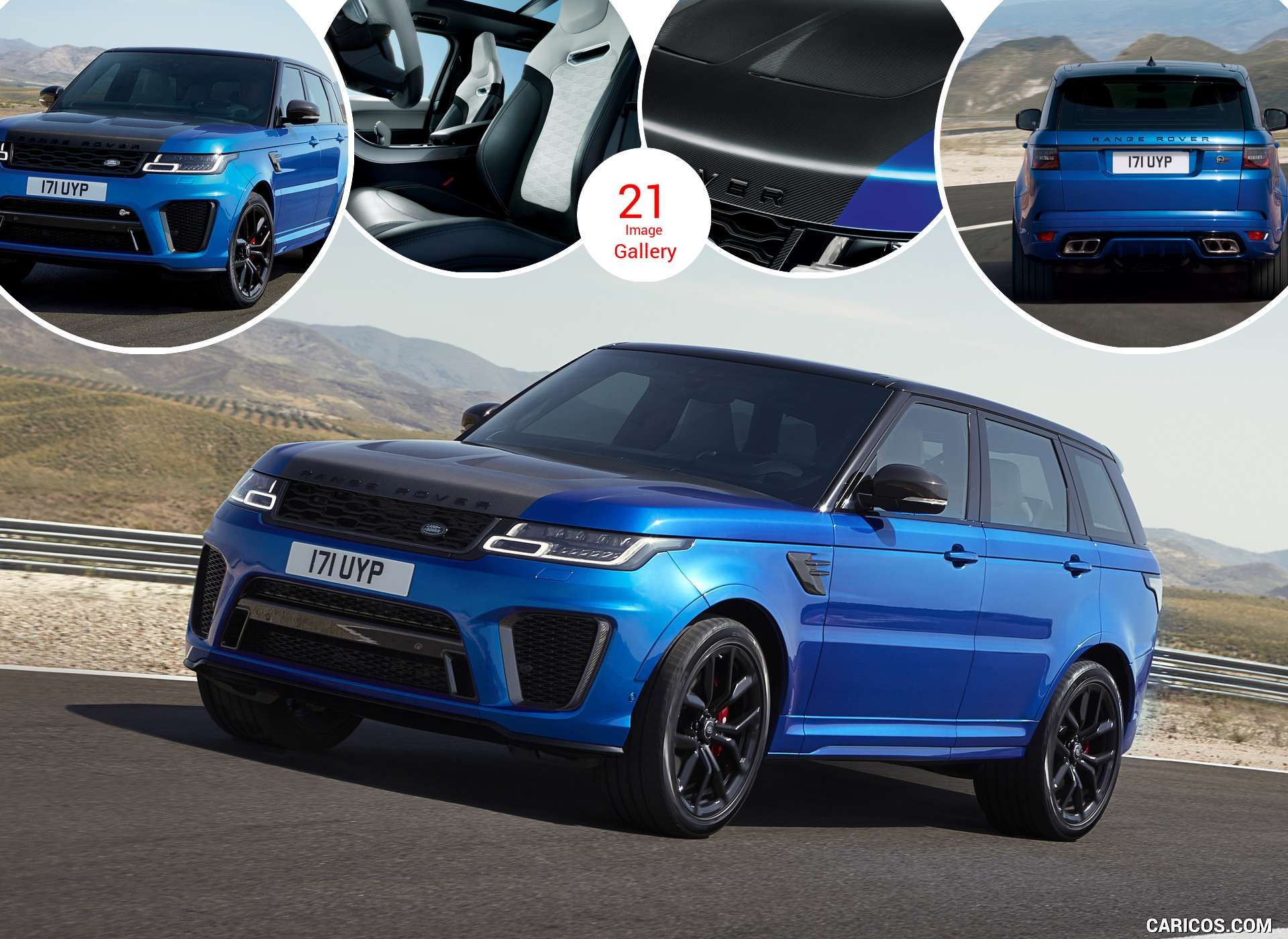 Range Rover Sport Svr 2018 Range Rover Sport Range Rover Supercharged Range Rover