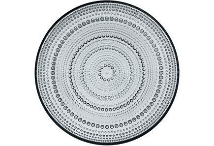 Iittala Kastehelmi lautanen 248 mm, harmaa