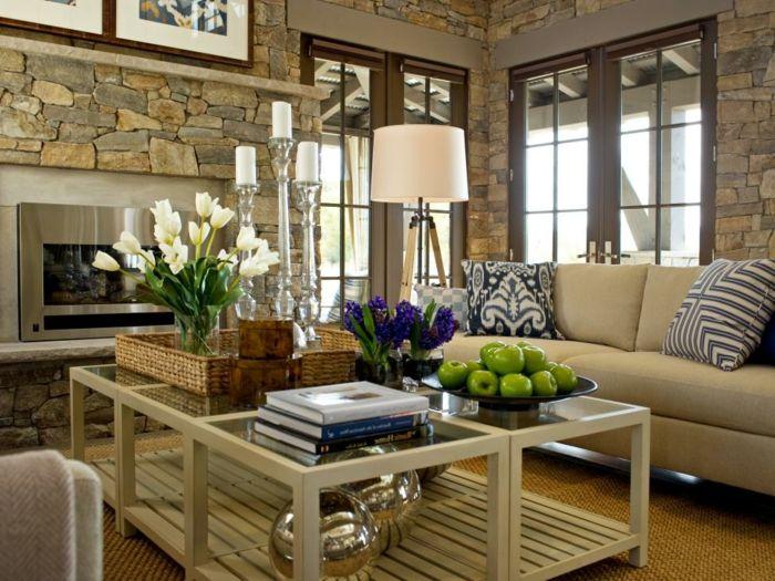 Wohnideen Couchtisch 1001 wohnzimmer deko ideen tolle gestaltungstipps deko ideen