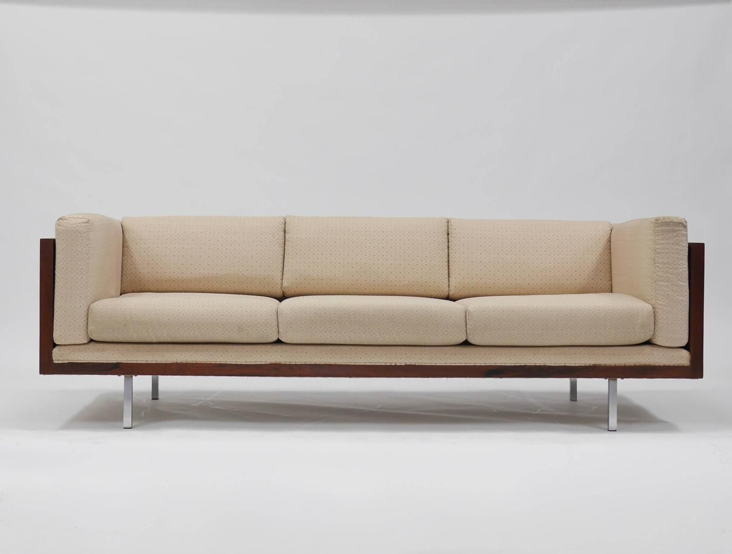 Pleasant Rosewood Tuxedo Sofa By Milo Baughman Great Room Sofa Gmtry Best Dining Table And Chair Ideas Images Gmtryco