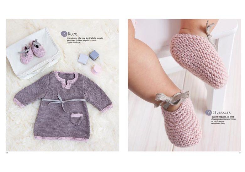 livre tricot b b et enfant autres phildar couture pour bebe pinterest baby knitting. Black Bedroom Furniture Sets. Home Design Ideas