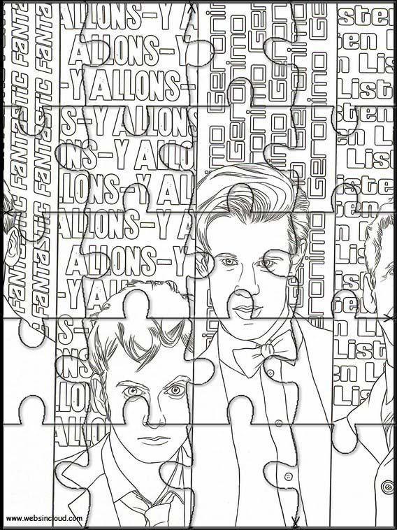 Doctor Who 12 Denteux à imprimer et découper #12doctor Doctor Who 12 Denteux à imprimer et découper #12doctor