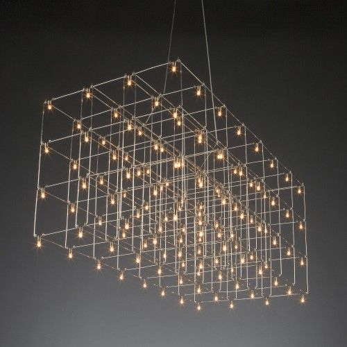 Quasar universe square triple nickel 3 layers · pendant lampspendant lightspendantsled