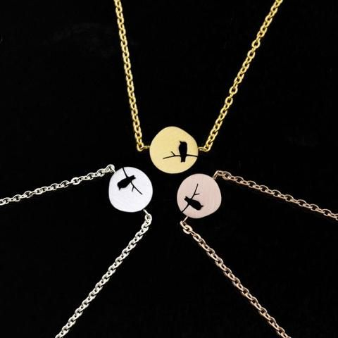 b7458882a04b94 Best Friend Rose Gold Love Bird Bracelets Women Friendship Charms Gifts Stainless  Steel Chain Pulseiras Feminina 2018 | | Touchy Style | | Touchy Style ...