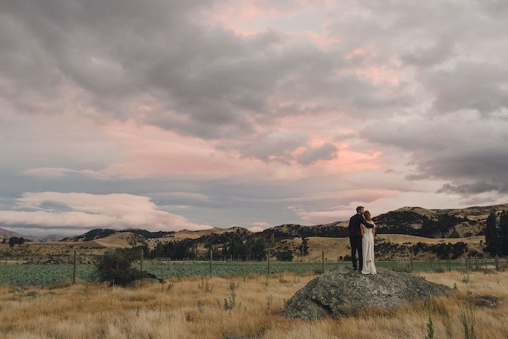 Most Breathtaking Weddings Held Around The World - This couple photograph new zealands most breathtaking locations