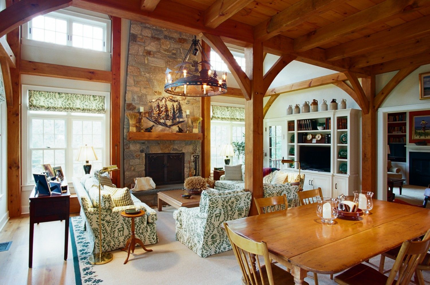 Timber frame barn home interior new canaan ct also sq ft blend rh pinterest