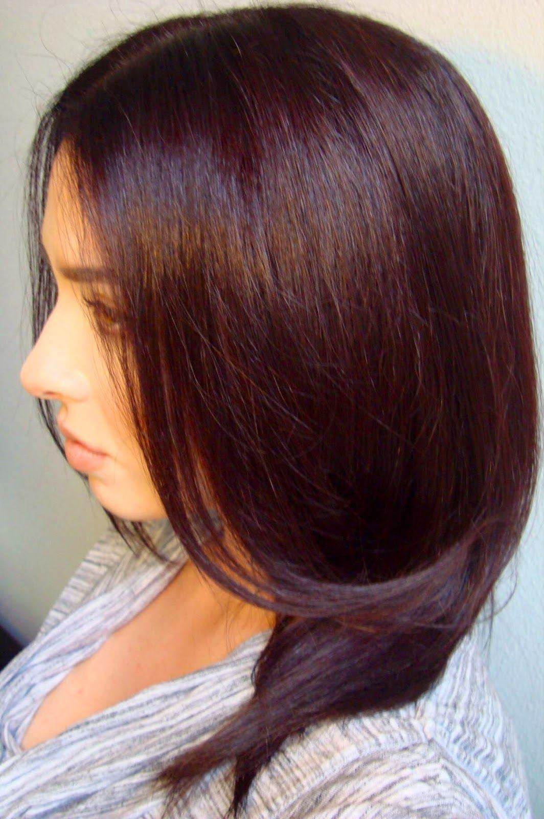 Dark olive hair color