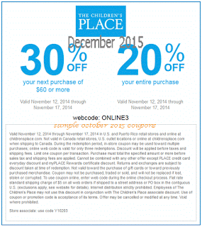 Place Coupon Code - $10 off $30!