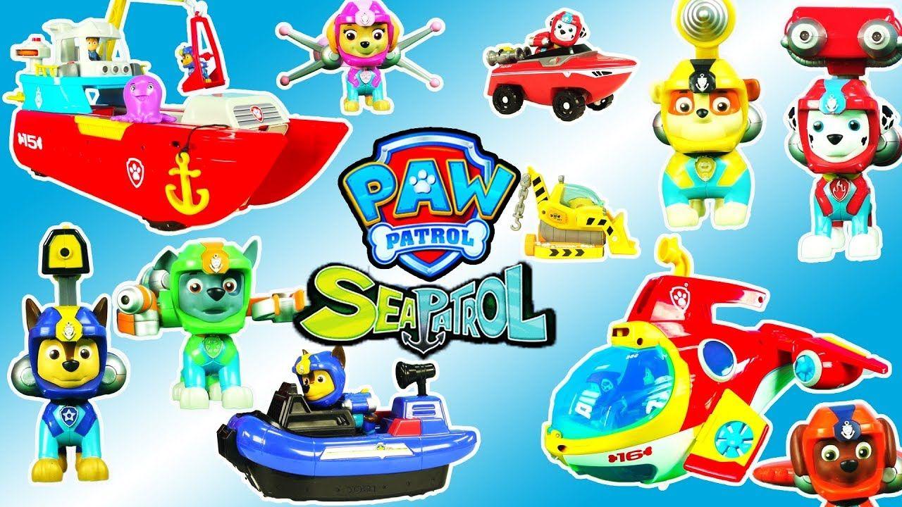 Quatang Gallery- Lots Of Paw Patrol Sea Patrol Toys Sea Patroller Sub Patroller Chase S Boat Cruiser And More Paw Patrol Toys Paw Patrol Toys Forboys