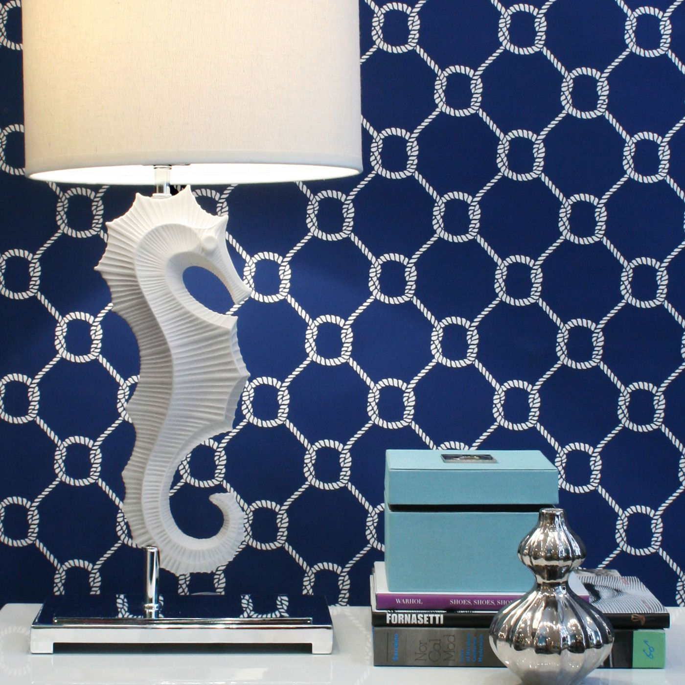 Jonathan Adler Seahorse Table Lamp. Elemental forms with subtle ...