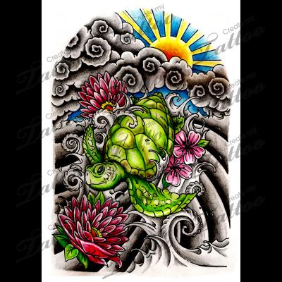 Marketplace Tattoo Japanese Half Sleeve 13948 Createmytattoo Com Japanese Tattoo Half Sleeve Tattoos Drawings