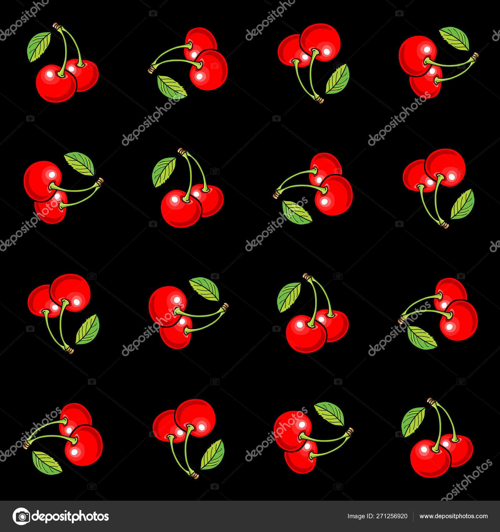 Black Background Green Red White Vector Background Graphic
