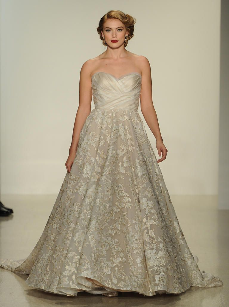 Matthew Christopher Ups the Elegance With Strapless Wedding Dresses ...