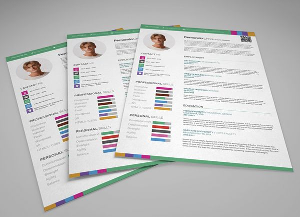 Creative Professional Resume on Behance ? - Design - Resumes - creative professional resumes