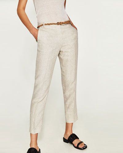 Pantalones para mujer | Rebajas Online | ZARA España | LOOKS