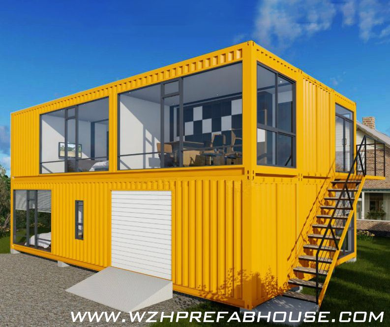 Transform shipping container into beautiful and fully