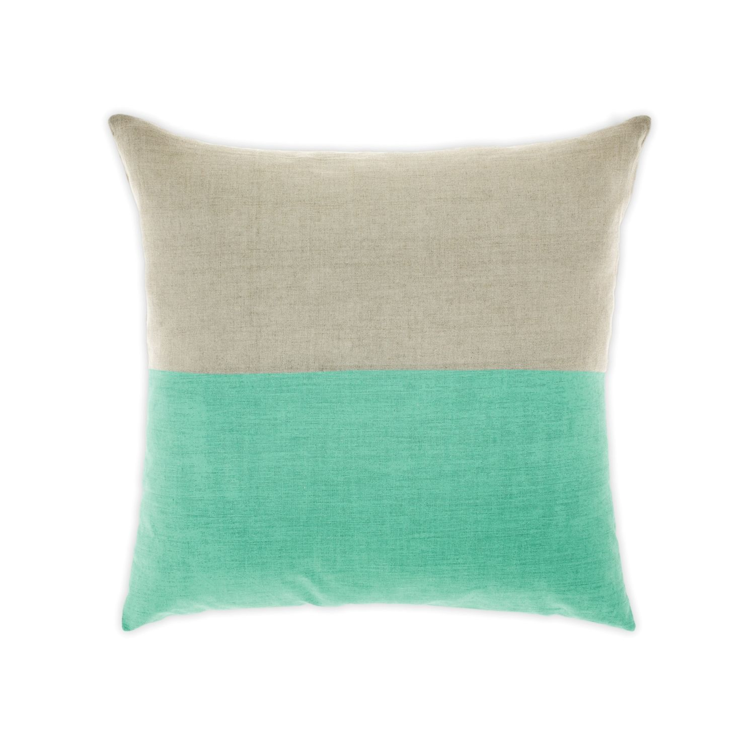 Aura Mint Dipped Cushion from Domayne Online Linen