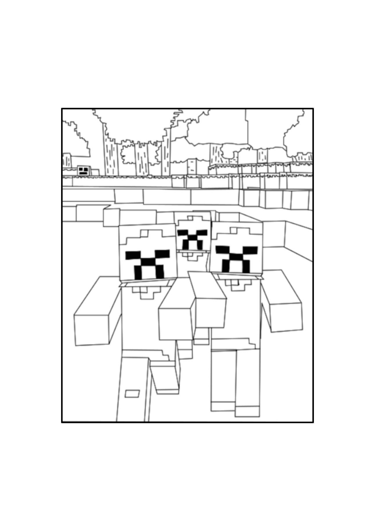 Minecraft Coloring Pages Minecraft Coloring Pages Coloring Pages Coloring For Kids