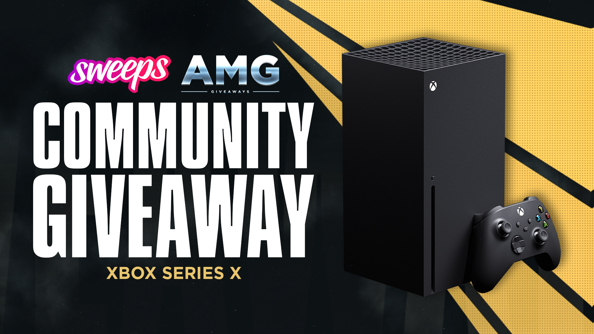 Sweeps X Amg Xbox Series X Giveaway In 2020 Gleam Giveaways Xbox Giveaway