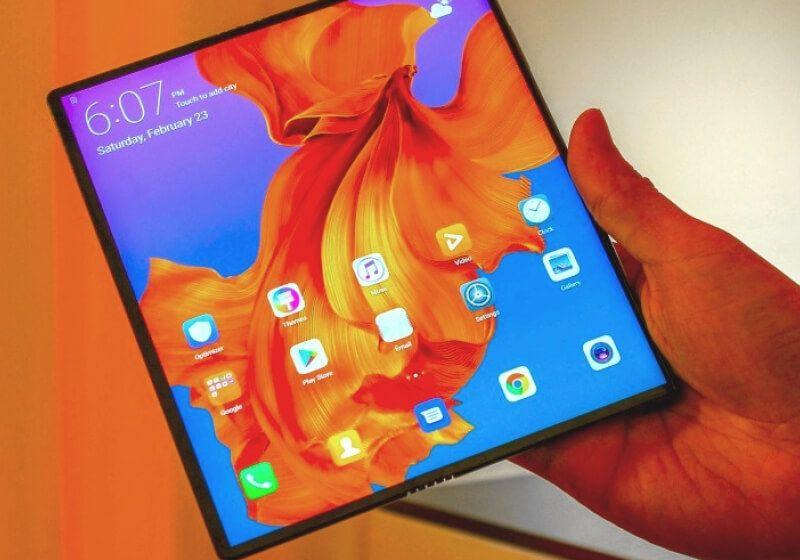 Huawei S Mate X Foldable Phone Looks Way Better Than Samsung S Galaxy Fold Huawei Mate Samsung Galaxy Product Launch