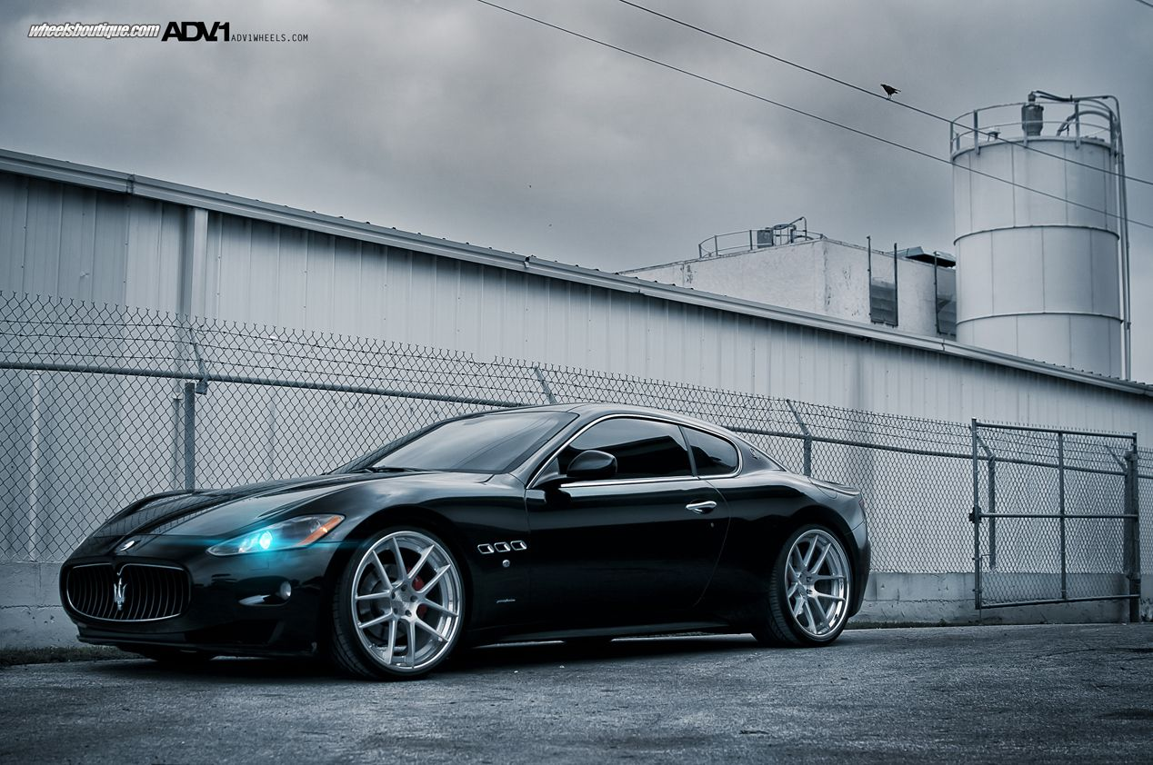 Genial ADV.1 Wheels On A Maserati GranTurismo