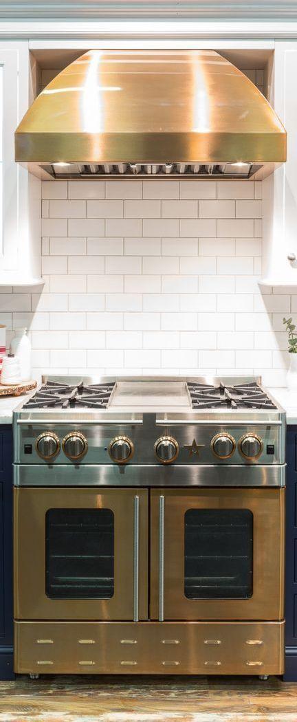 36 Precious Metals Range With 12 French Top Kitchen Design Kitchen Oven Kitchen Plates Set