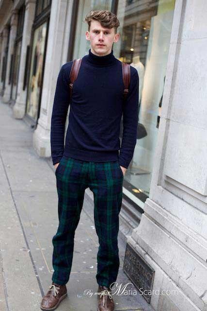 I Love The Tartan Trousers I M Not Usually A Fan Of Turtle Necks