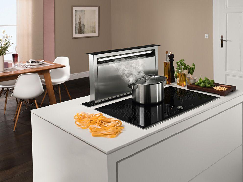 Adi s a la campana de cocina con el extractor de encimera - Campana de cocina ...