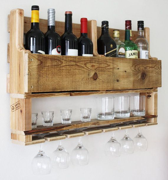 21 Amazing Shelf Rack Ideas For Your Home: Wine Rack From Wood