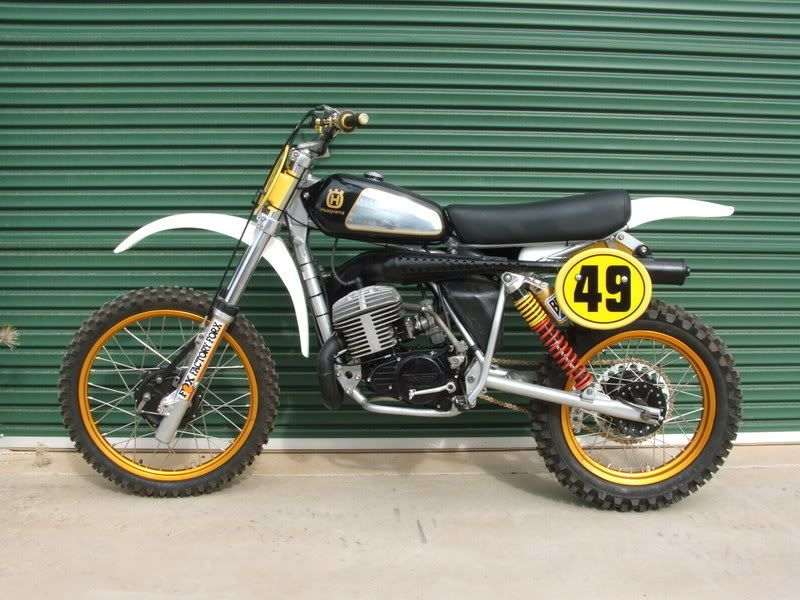 I also rode the 390 that year. It was scary powerful and used to liquify the dirt under the rear time with any twist of the throttle. 3 gear stand-up wheelies down the block were it's favorite way to pass the time. A court order would not keep the front wheel down. It could win some races.