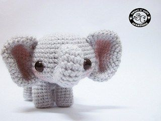Amigurumi Patterns Elephant : Amigurumi elephant pattern amigurumi elephant