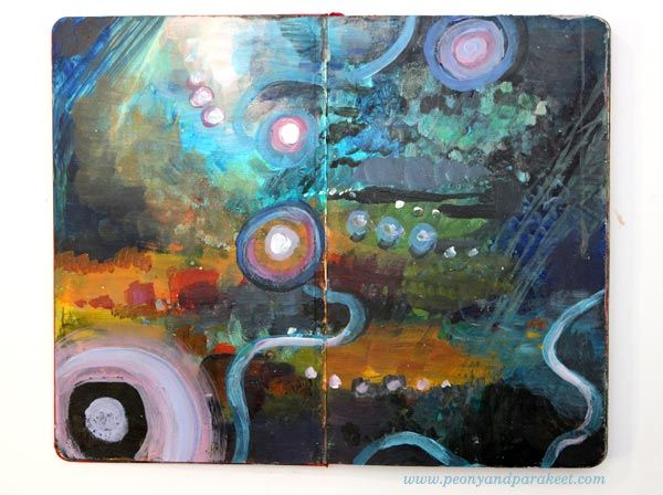 How To Transform Ideas Into Paintings With Art Journaling Art