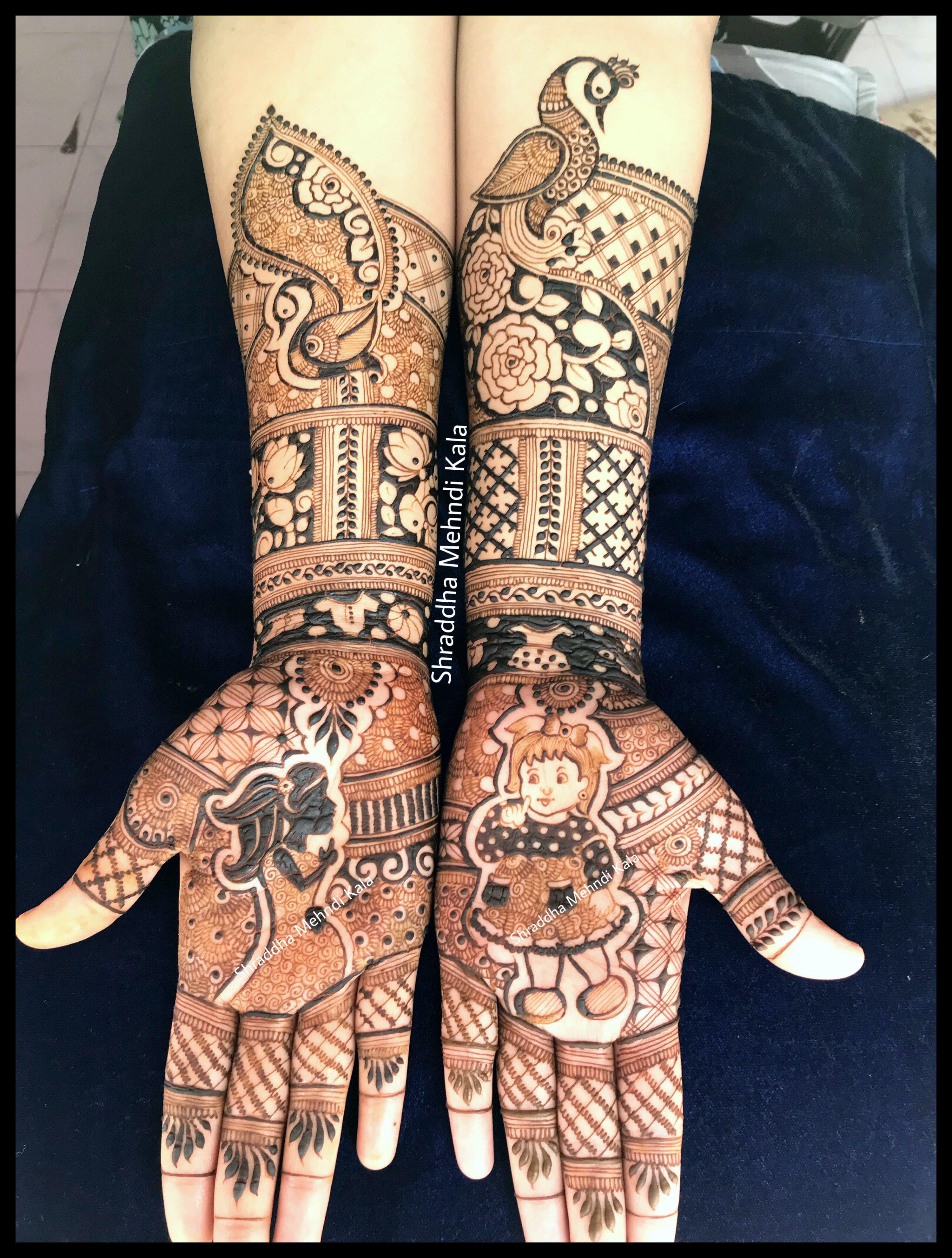 Pin by Henna Artist Shraddha on Baby Shower Mehndi Hand